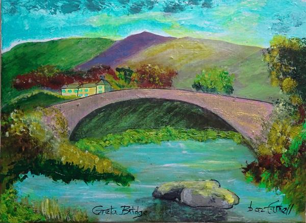 GRETA BRIDGE. by Baz Farnell