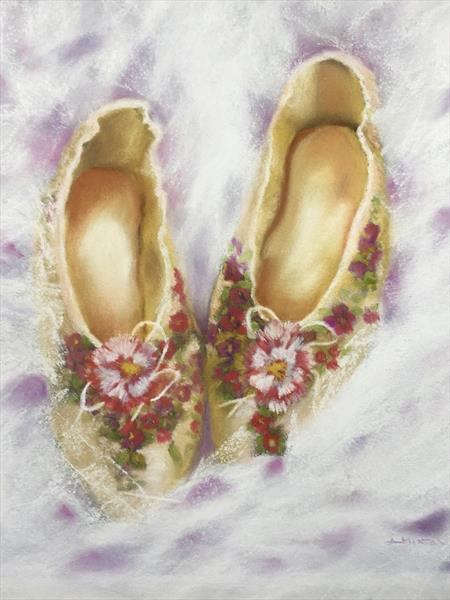 Ballet Shoes by Alison Hinton