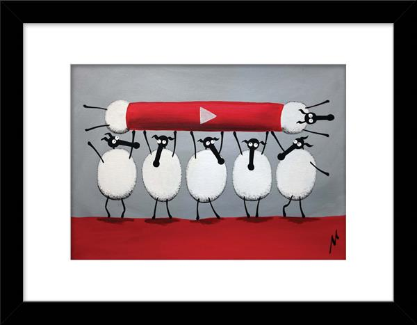 Ewe-Tube Limited Edition Print