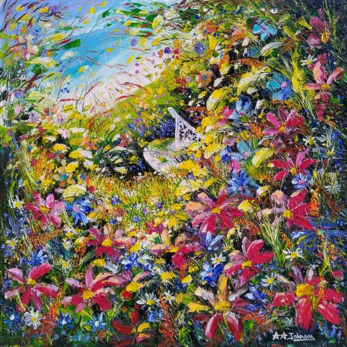 Impressionist Garden by Andrew Alan Johnson