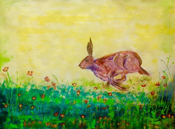 Strolling Hare