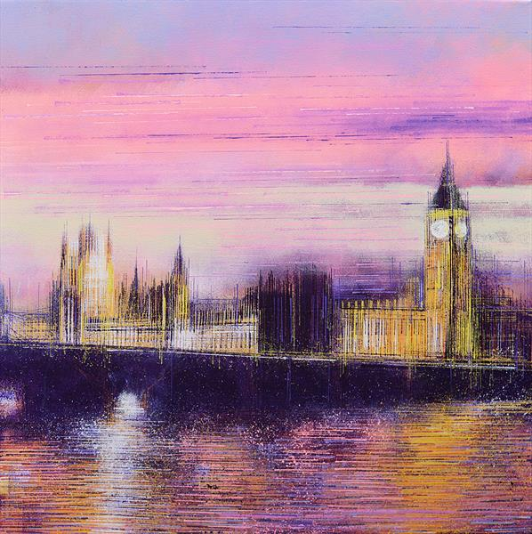 Sunset Over Westminster