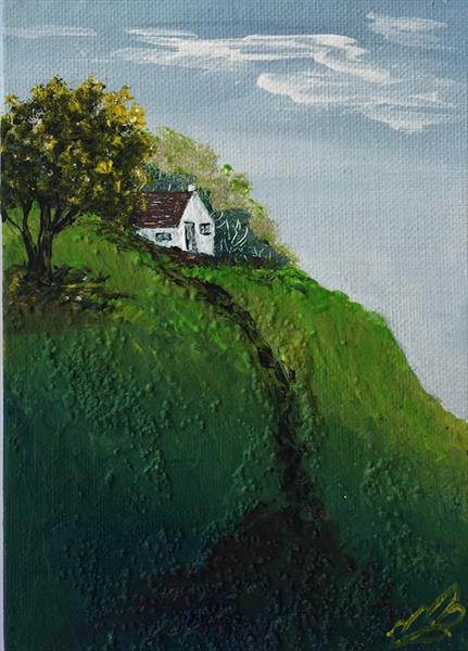 House on the Hill by Marja Brown