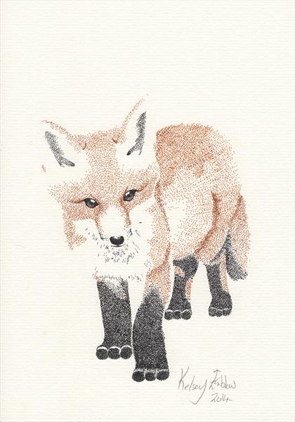 The Fox Cub by Kelsey Emblow
