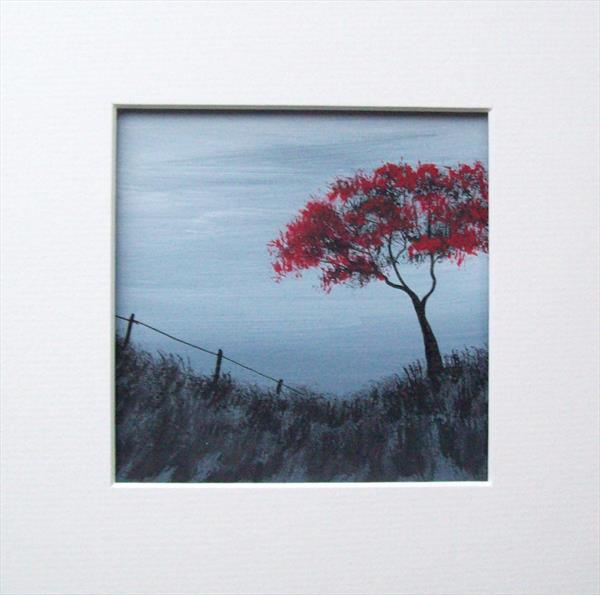 Red Tree Landscape 2#
