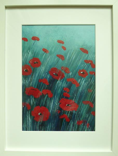 Night Poppies by Elaine Allender