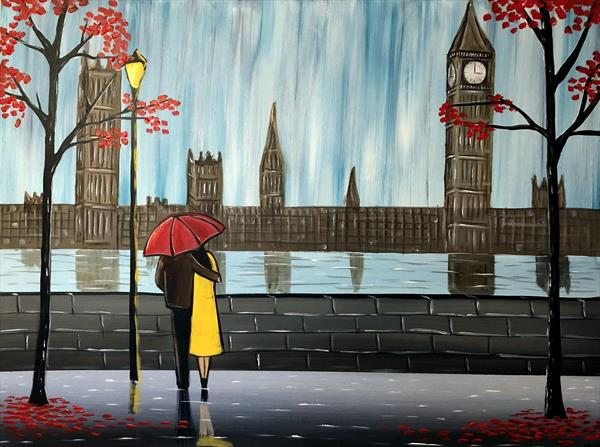 Love In London - Large by Aisha Haider