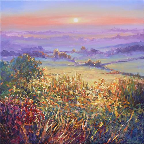 West Country Impressions (On Display At Art Gallery, Tetbury) by Mariusz Kaldowski