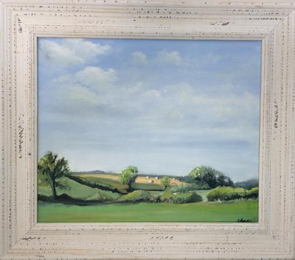 Over the fields by Andrew Snee