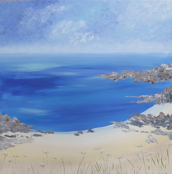 Hebridean Beach by Elaine Allender