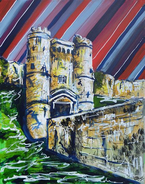 Carisbrooke Castle by Laura Hol