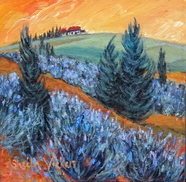 Tuscany Forms by Sheila Vickers