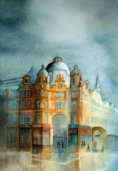Leeds Kirkgate Markets by Gary Kitchen