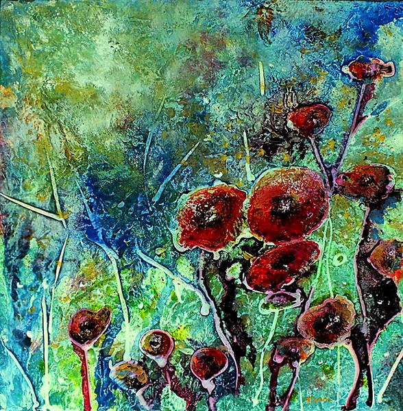 Poppy Blush by Tracey Unwin