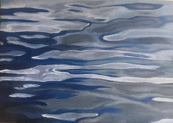 Tranquil waters by Lesley White