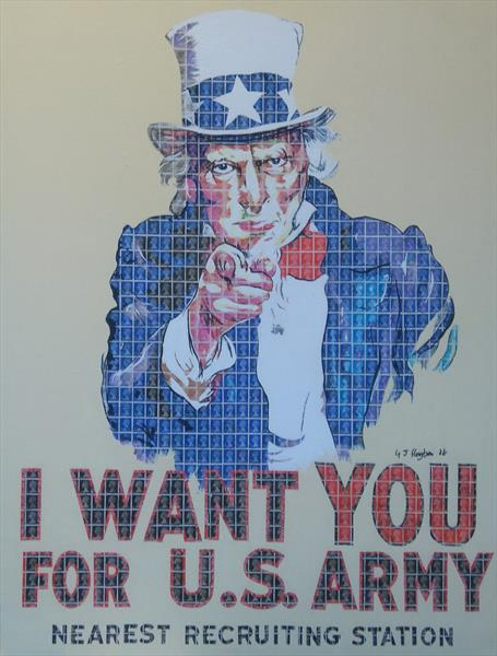 Uncle Sam by Gary Hogben