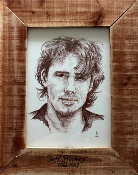 Jeff Buckley by Bill Taylor-Beales