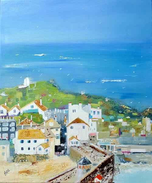 Smeaton's Pier, St Ives, Cornwall by Bee Inch