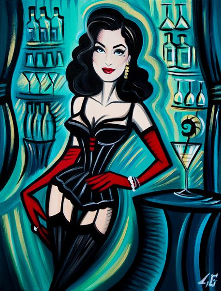 Dita (Limited edition print) by Laetitia Guilbaud