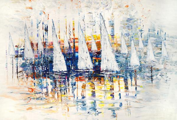 Sailing Impressions XL 2 by Peter Nottrott