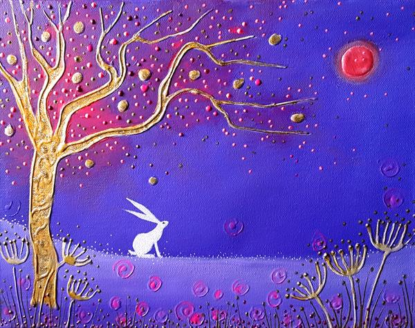 The Hare and the Blood Moon by Angie Livingstone