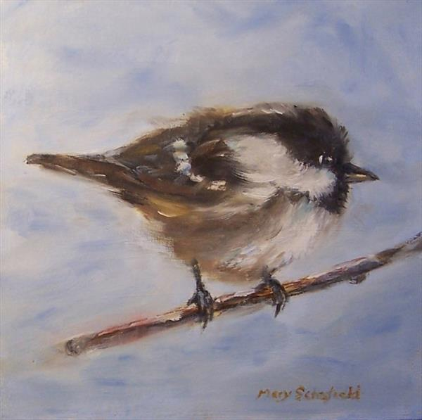 Coal Tit by Mary Schofield