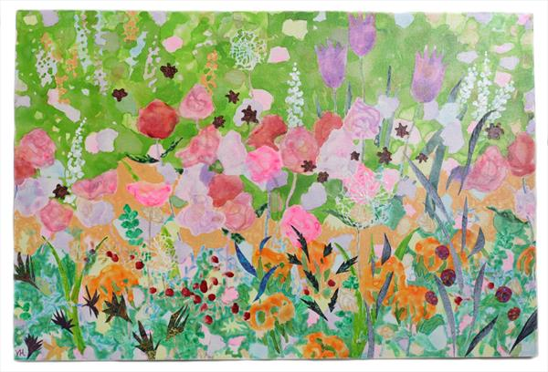Garden Sparkle by Veronica  Haldane