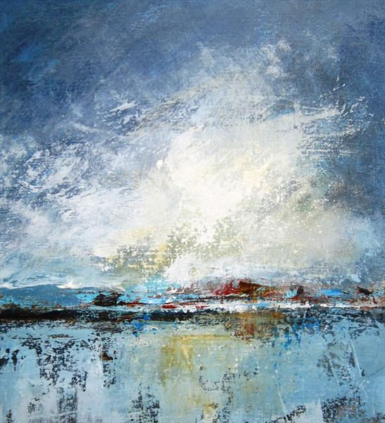 Stormy skies by Tracey Waghorn