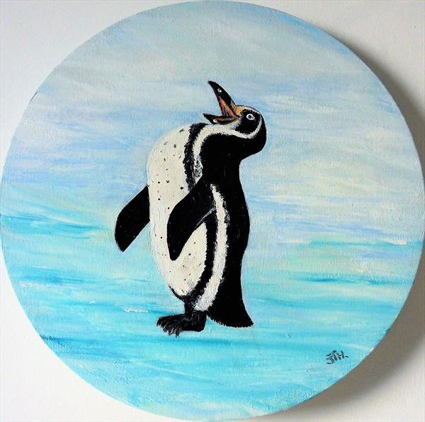Laughing Penguin by Joanne Tharby-Hammond