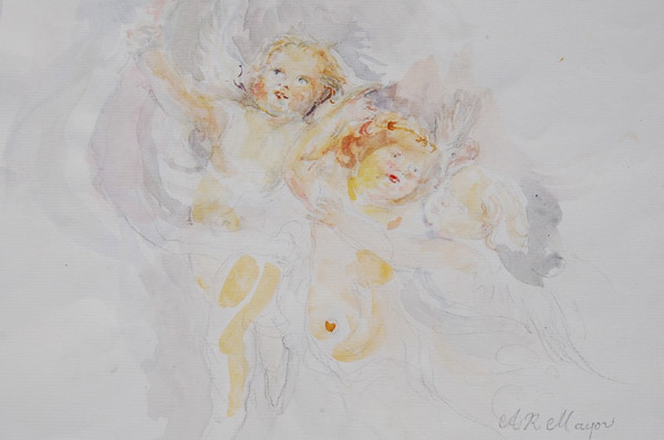 Heavenly Cherubs by Alison Mayor