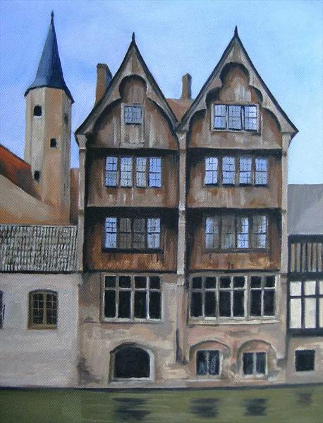 View of Bruges by Michael Anthony