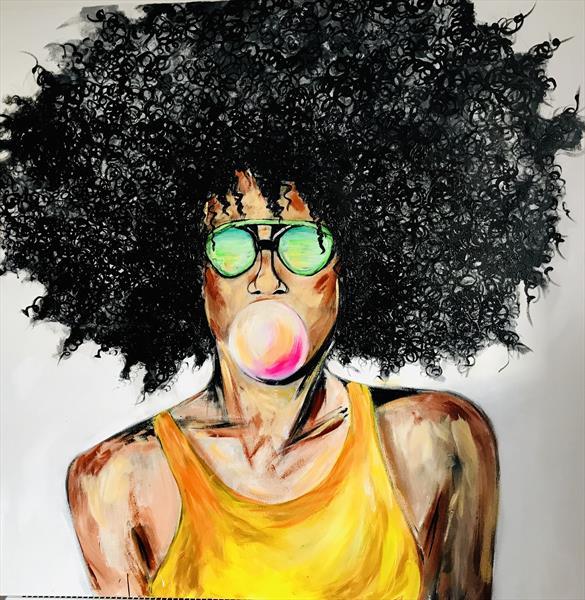 Afro women by Anna Maria Ratusz