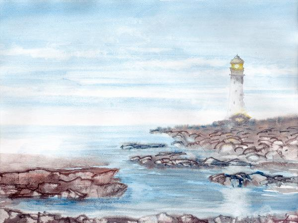 Lighthouse by Yulia Schuster