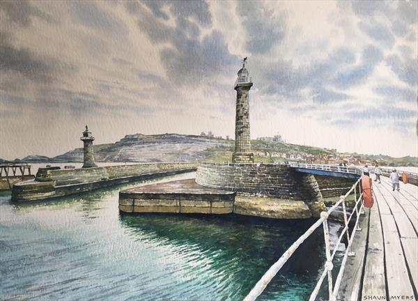 Whitby Harbour by Shaun Myers