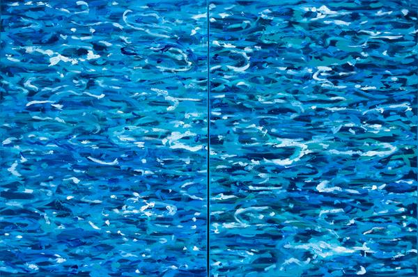 Water : DIPTYCH : 32