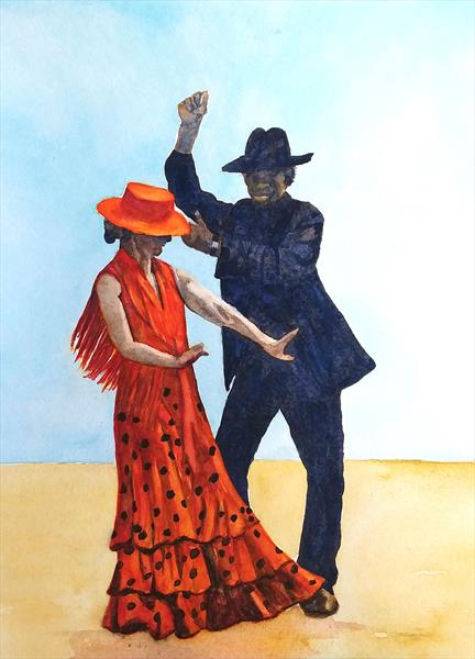 Flamenco by Maureen Crofts