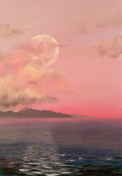 Moon by Maggie Frampton