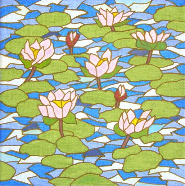 The Lily Pond by Patricia Unwin