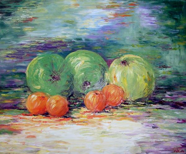 Apples and Oranges by Therese O'Keeffe