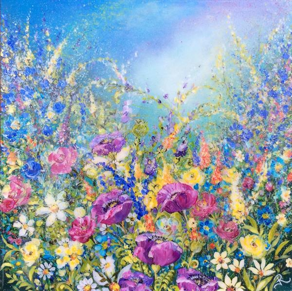 Violet Meadow  by Janice  Rogers