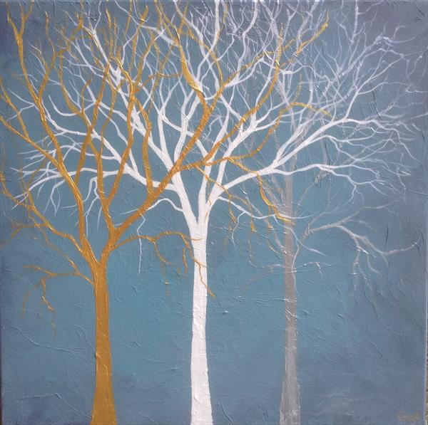 Winter Trees by Gill Masters
