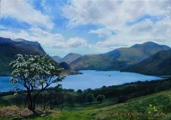 Ullswater in Spring by Peter Brook
