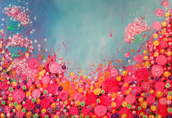 Summer Explosion by Angie Livingstone