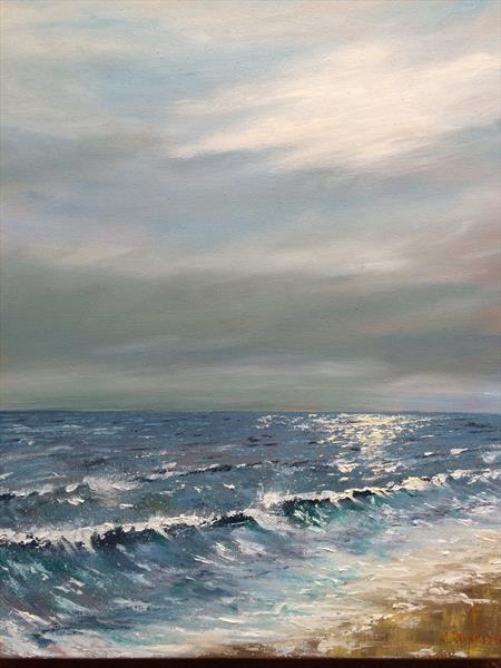 Winter sea I  by Kevin Franklyn
