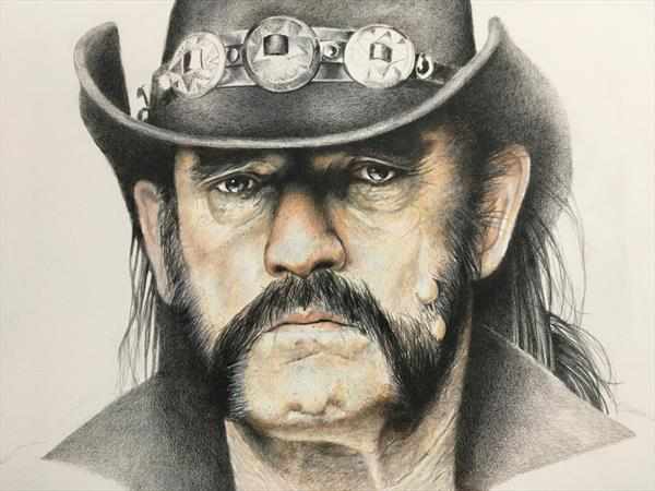 Lemmy, Motorhead by Joe Hendry