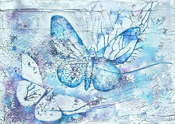 Winter Butterflies by Cyndy Cmyth