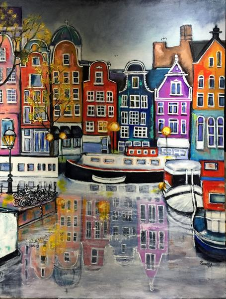 INVITATION TO AMSTERDAM by Suzette Datema