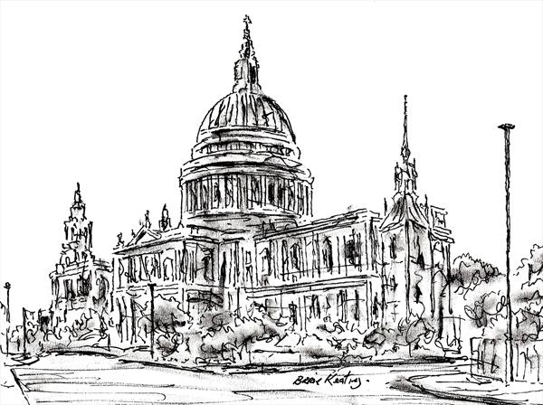 Saint Paul's Cathedral London by Brian Keating