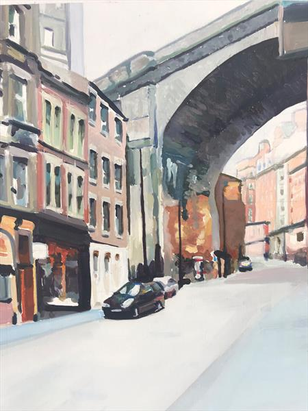 Grey Street,  Newcastle Upon Tyne by James  Bloomfield