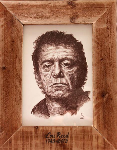 Lou Reed by Bill Taylor-Beales